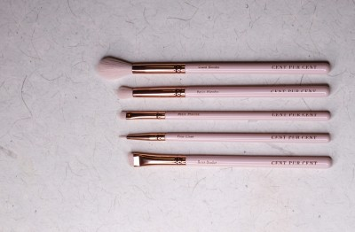 CENT PUR CENT LUXE EYE BRUSH SET