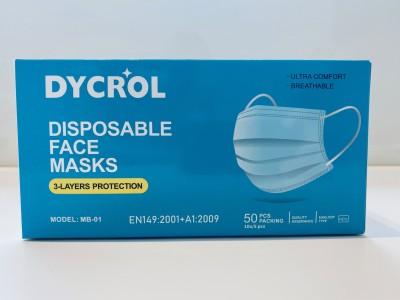 dycrol mondmaskers type IIR 50 stuks