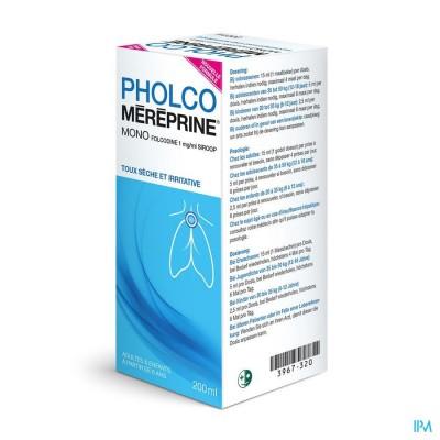 PHOLCO MEREPRINE MONO 1MG/ML SIROOP 200ML