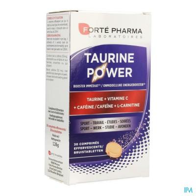Energie Taurine Power Bruistabletten 30