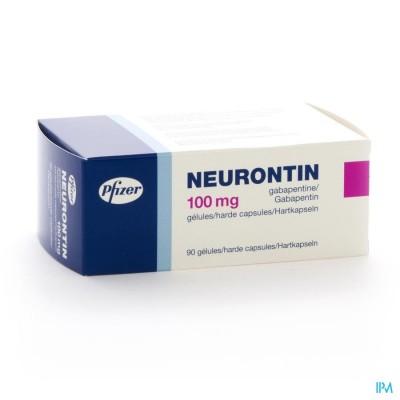 NEURONTIN CAPS 90 X 100 MG