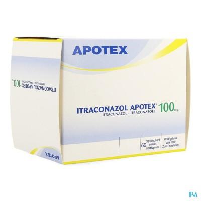 ITRACONAZOL APOTEX 100 MG CAPS 60