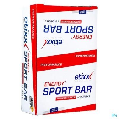 Etixx Energy Sport Bar Red Fruit 12x40g