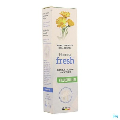 HOMEOFRESH TANDPASTA CHLOROPHYLLUM TUBE 75ML