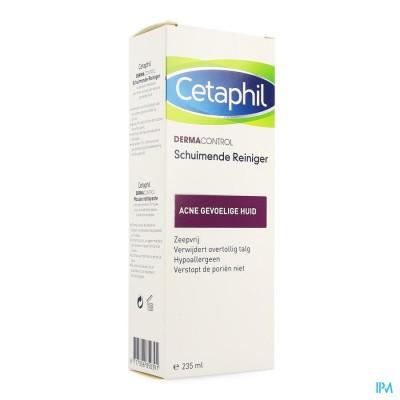 CETAPHIL DERMACONTROL SCHUIM. GEZICHTSREINIG.235ML