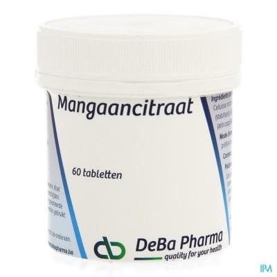 MANGAANCITRAAT COMP  60 DEBA
