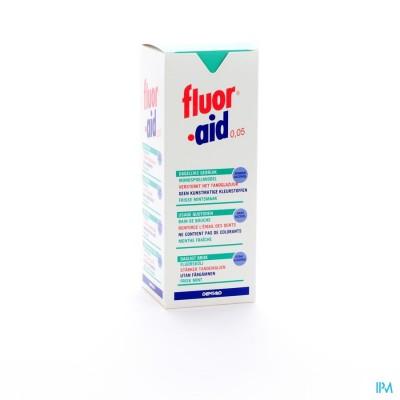 FLUOR AID 0,05% MONDSPOELMIDDEL         500ML 3104