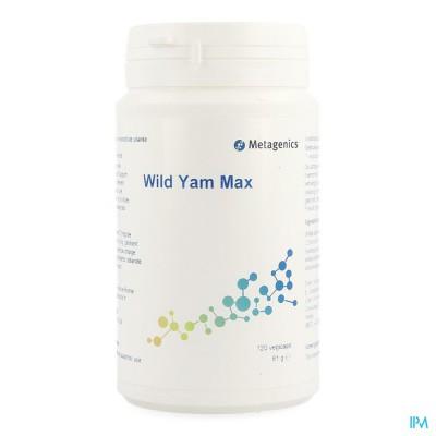 Wild Yam Max Caps 120 683 Metagenics