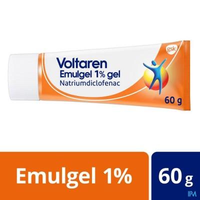 VOLTAREN EMULGEL 1 % GEL  60G NEW