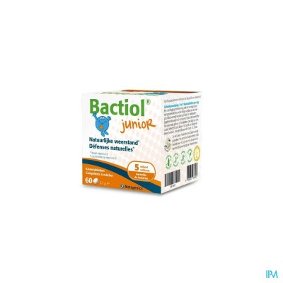 Bactiol Junior Chew. Kauwtabl 60 27618 Metagenics