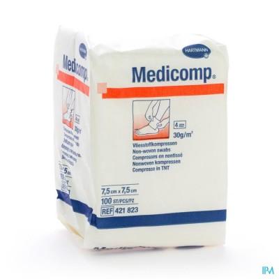 Medicomp 7,5x7,5cm 4l. Nst. 100 P/s