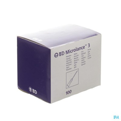 Microlance 3 Naald 20g 1 1/2 Rb 0,9mm 40mm 100