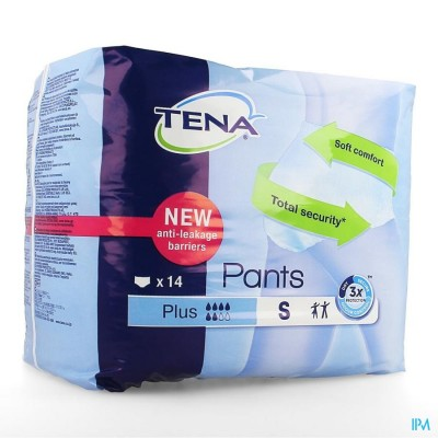 TENA PANTS PLUS SMALL     14 792414