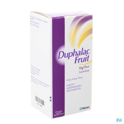 DUPHALAC FRUIT SIR SACH 20 X 15 ML