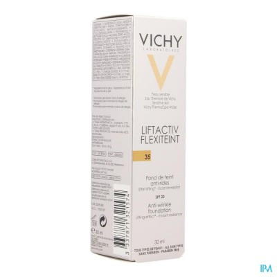 VICHY FDT FLEXILIFT TEINT A/RIMPEL 35 SADE    30ML