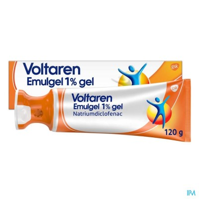 VOLTAREN EMULGEL 1 % GEL 120 G APPLICATOR DOP