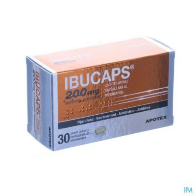IBUCAPS 200MG APOTEX CAPS ZACHT 30