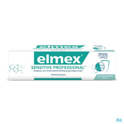 ELMEX SENSITIVE PROFESSIONAL TANDPASTA  TUBE 75ML
