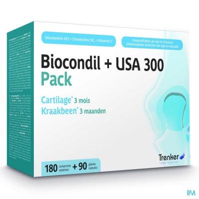 Biocondil Usa 300 Nf Comp 180 + Caps 90