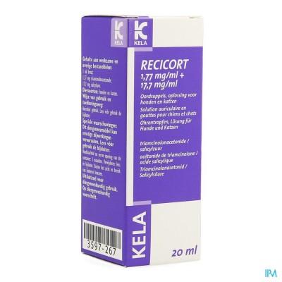 RECICORT 1,77MG + 17,7MG/ML    20ML