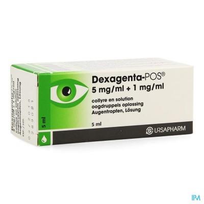 DEXAGENTA POS COLLYRE 5 ML