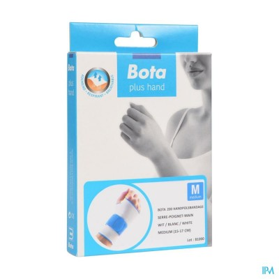 Bota Handpolsband 200 White M