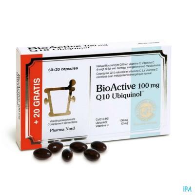 BioActive Q10 100mg 60+20 caps