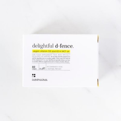 RAINPHARMA DELIGHTFUL D-FENCE SOFTGELS          80