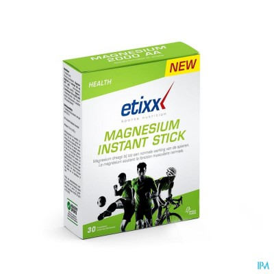 ETIXX MAGNESIUM INSTANT TROPICAL STICKS  30