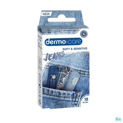 DERMO CARE JEANS PLEISTER STRIPS 18