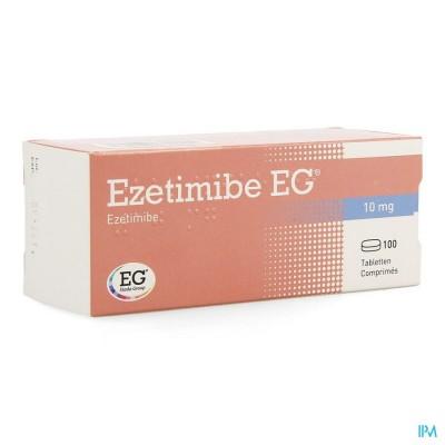EZETIMIBE EG 10MG COMP 100 X 10MG