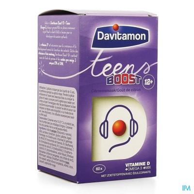 DAVITAMON BOOST TEENS OMEGA-3  CAPS 60