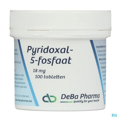 PYRIDOXAL-5-PHOS      COMP 100X18MG           DEBA