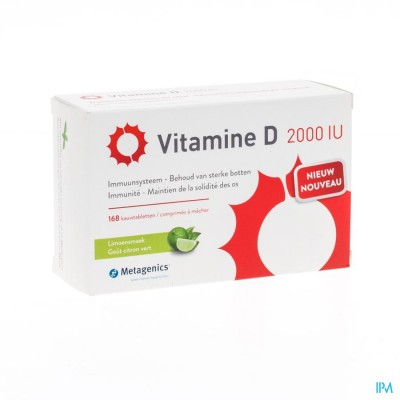 VITAMINE D 2000IU        TABL 168       METAGENICS