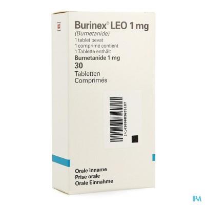 BURINEX COMP  30 X 1 MG