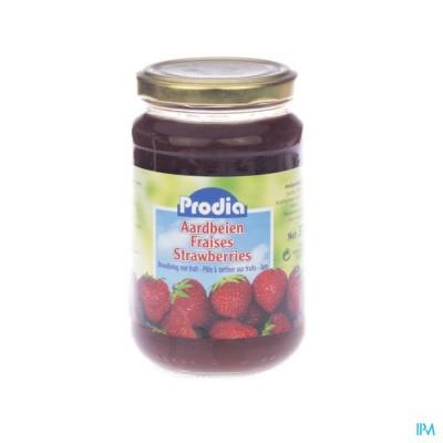Prodia Jam Aardbeien + Fructose 370g 6090