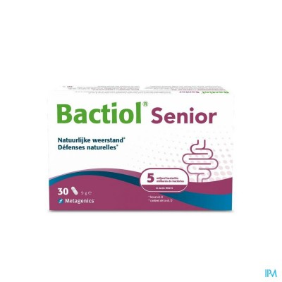 Bactiol Senior Caps 30 27729 Metagenics