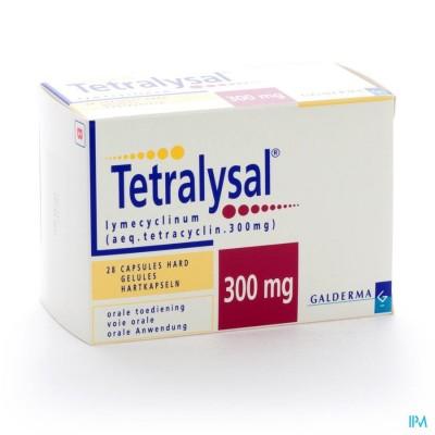 TETRALYSAL CAPS 28 X 300 MG
