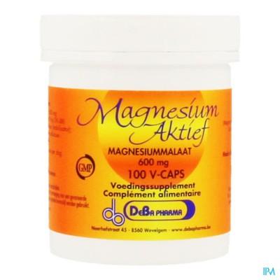 Magnesium Actif Caps 100 X 600mg Deba