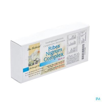 Herborist Ribes Nigrum Cmplx Amp 20x10ml 0747