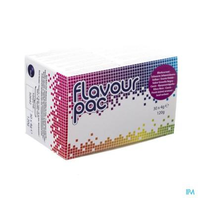 Flavour Pac Cassis Zakje 30x4g