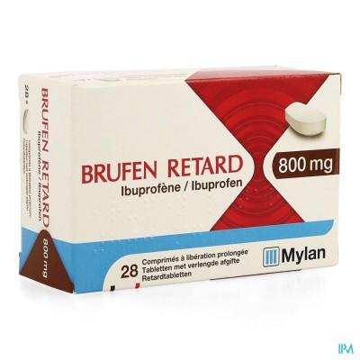 BRUFEN RETARD COMP 28 X 800 MG