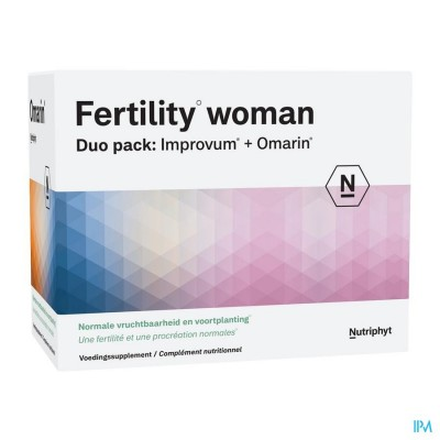 FERTILITY WOMAN DUO 60 TABL IMPROV.+60 CAPS OMARIN