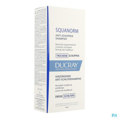 DUCRAY SQUANORM SH DROGE SCHILFERS NF 200ML