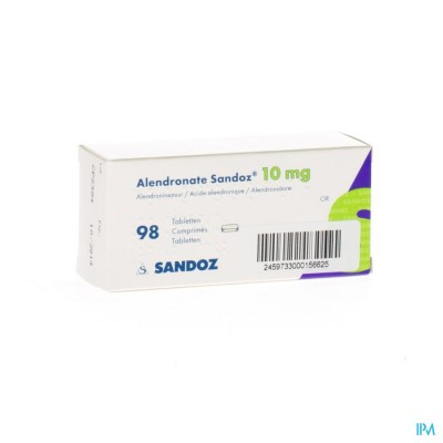 ALENDRONATE SANDOZ COMP 98 X 10 MG
