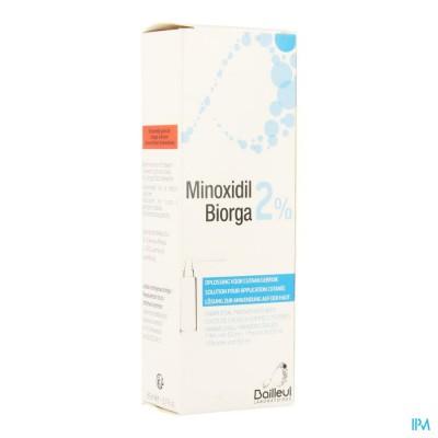 MINOXIDIL BIORGA 2% OPL CUTAAN KOFFER    FL 1X60ML