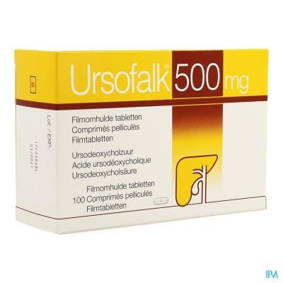 URSOFALK 500MG FILMOMH TABL 100 X 500MG