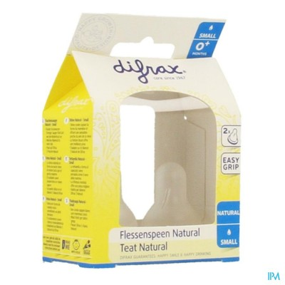 DIFRAX FLESSENSPEEN NATURAL SMALL              671