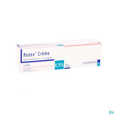 ROZEX CREME TUBE 30G 0,75%