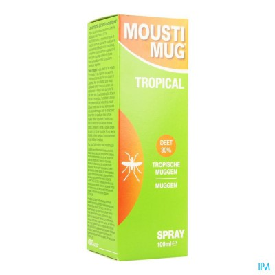 Moustimug Tropical 30% Deet Spr.100ml